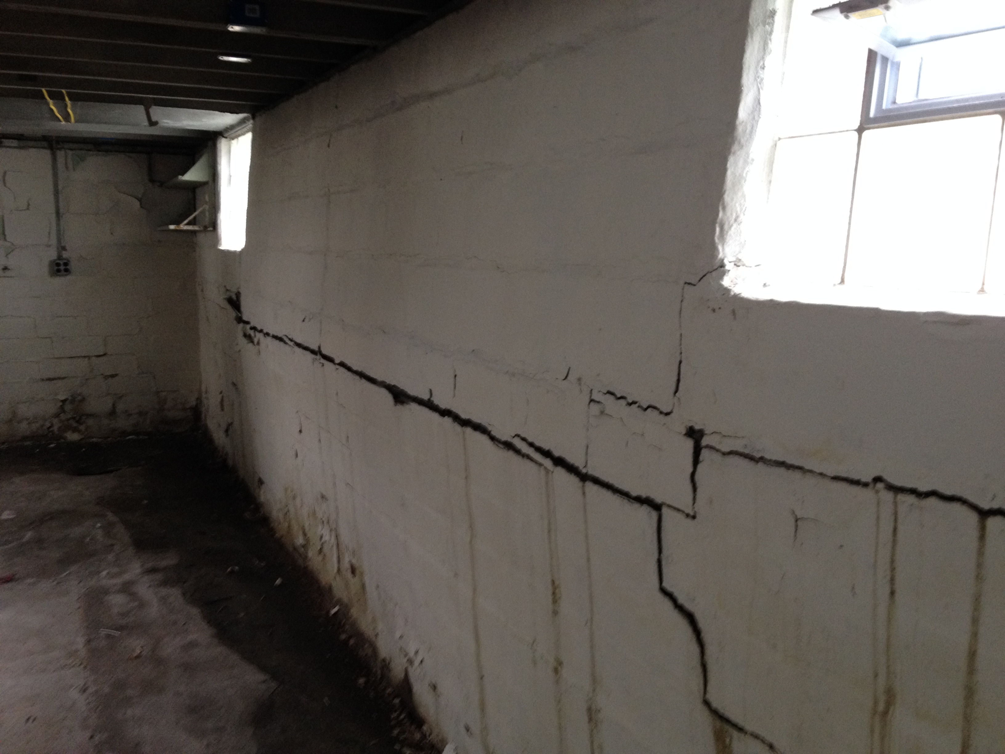 Basement wall repair methods are not one size fits all for Block basement