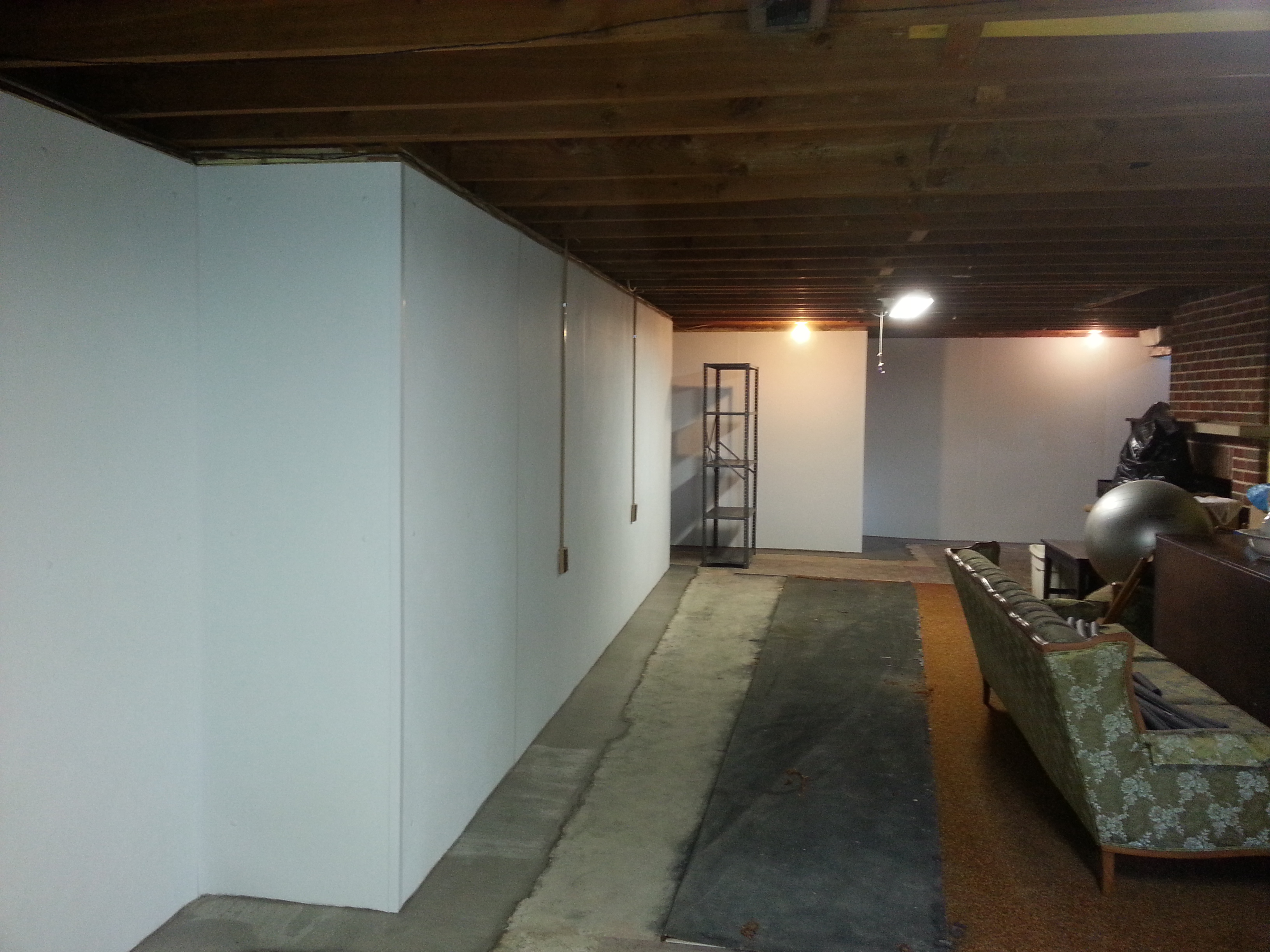 Interior Basement Waterproofing System & Interior Basement Waterproofing - Pioneer Basement Solutions
