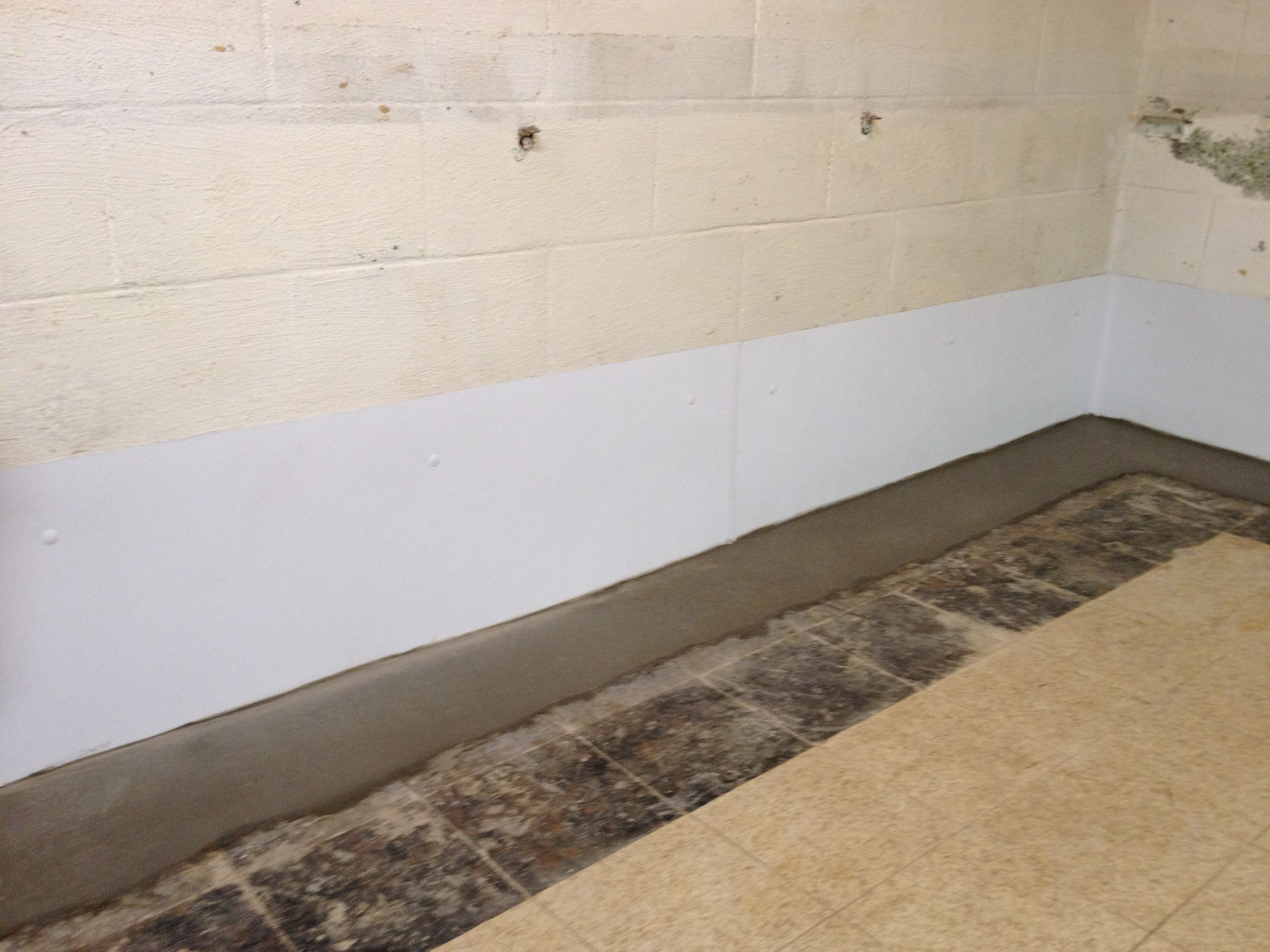 How to make a basement waterproof for Basement foundation walls