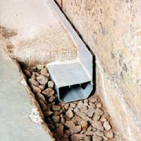 This type of system is installed level and is not sloped to drain