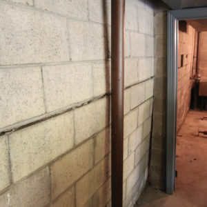 bowed basement wall